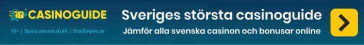 Casinoguide.se jämför svenska casinon online